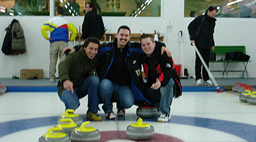 Neues Curling-Team fü:r Vancouver 2010